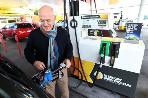 Новое топливо ПИВЗИН из отходов пивного производства