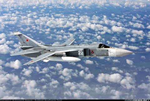 Источник: Су-24 ЧФ РФ вынудили эсминец США отойти в нейтральные воды