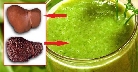 Целебный напиток «Изумруд» для очищения печени и кишечника