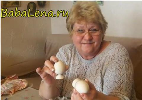 Отливаем яйца из алебастра для декупажа.