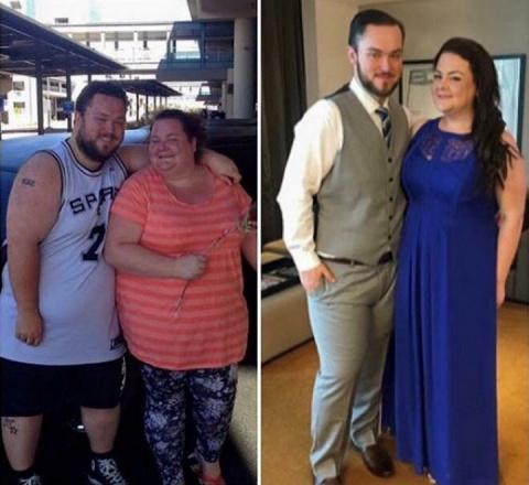 Совместное похудение на 170 кг