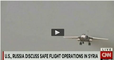 CNN: Пилоты США не хотят катапультироваться.Летчикам США запретили приближаться к русским