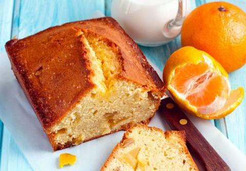 Имбирный кекс с мандариновой пропиткой