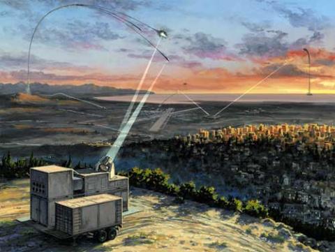 Немцы провели испытания высокоэнергетического лазера