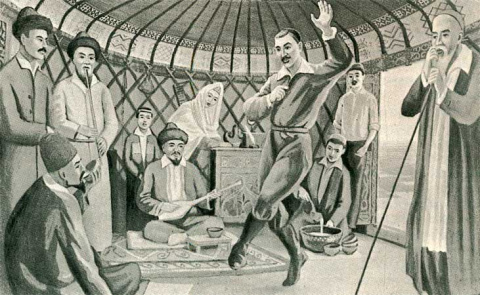 Казахская танцевальная культура