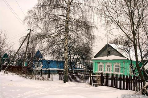 Родная моя деревенька