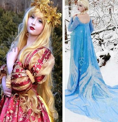 Почувствуй себя диснеевской принцессой -- 8 сказочных платьев от 18-летнего дизайнера