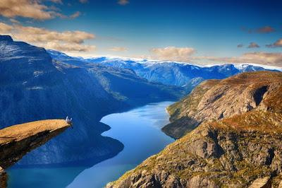 21 фото снежной сказки Норвегии