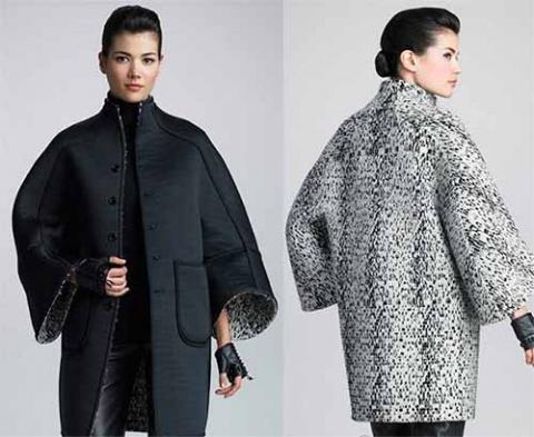 выкройка стильного пальто