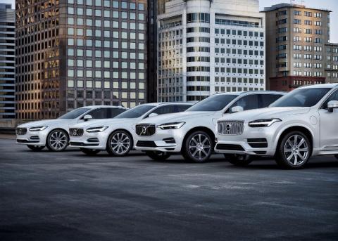 Volvo откажется от выпуска бензиновых автомобилей