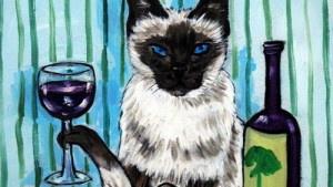 Хвостатые собутыльники: вино…