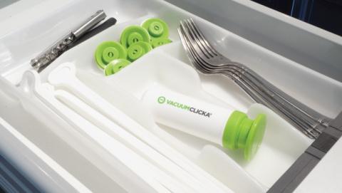 Супер-устройство VacuumClicka для свежести продуктов