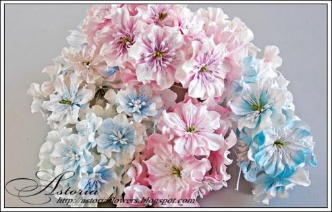 МК Цветы из бумаги (для скра…