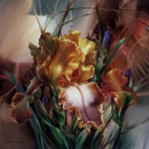 Цветы в работах художницы Vi…