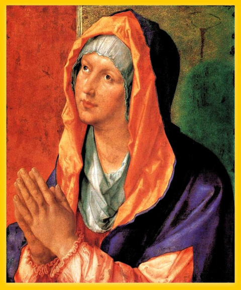 Молящаяся Мария.1518.Молящаяся Мария