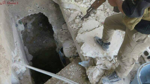 Сирия: армия Асада обнаружил…
