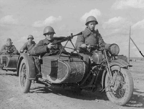 5 легендарных мотоциклов Второй мировой