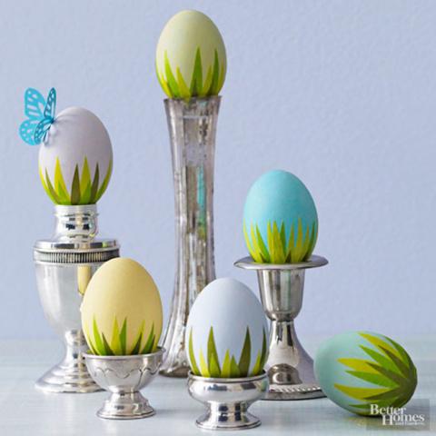 Как украсить яйца на Пасху, чтобы было «не как у всех»