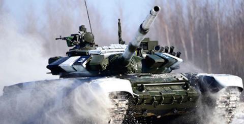Камчатское соединение морской пехоты Тихоокеанского флота получило новые танки Т-80БВ