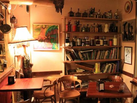 Самое интересное кафе в Киши…