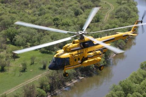 Российский вертолет MИ-171A2 дебютировал на выставке в США