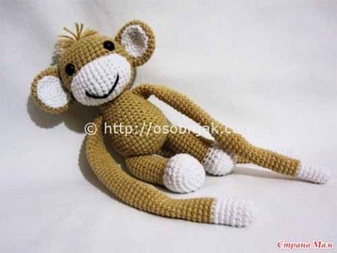 Прихватка обезьянка
