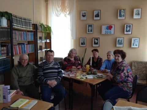 Открытие Литературного кафе.