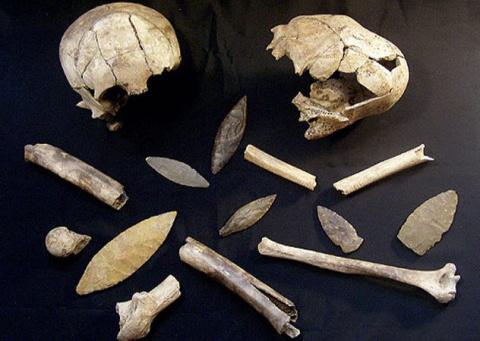 Древние пугающие находи из могил