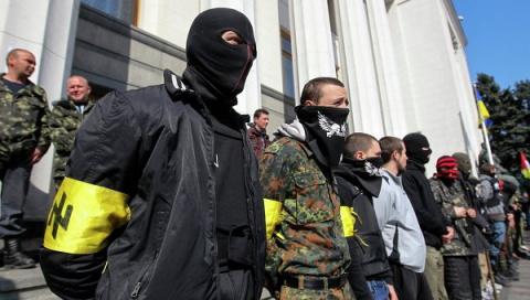 Киев: «Говорят и показывают неонацисты…»