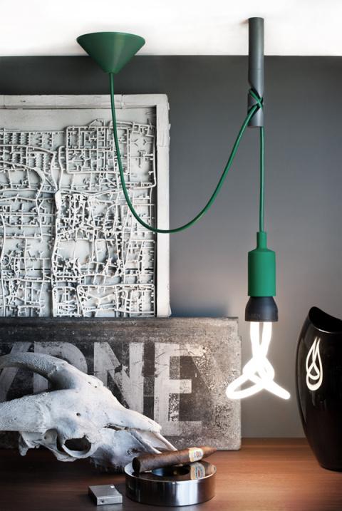 Романтичный подвес для светильника