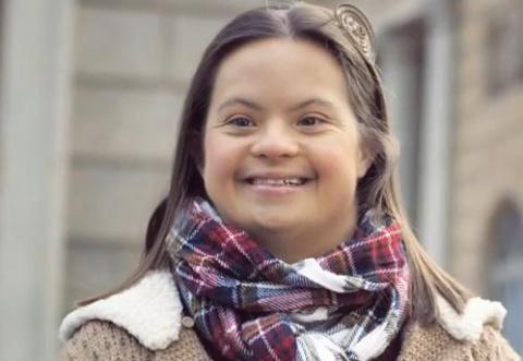 Дети с синдромом Дауна обратились к будущей маме