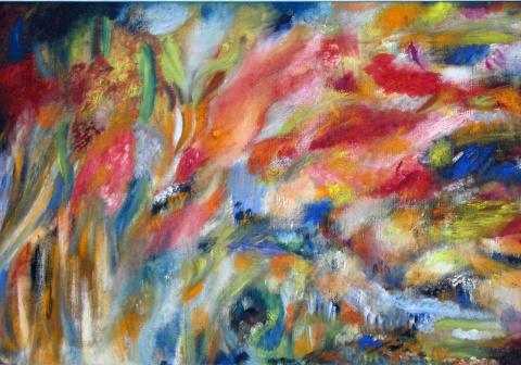Цветовая композицйя к романсу на стизи Пушкина
