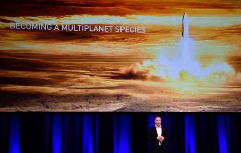 Инновационная ракета Space X…