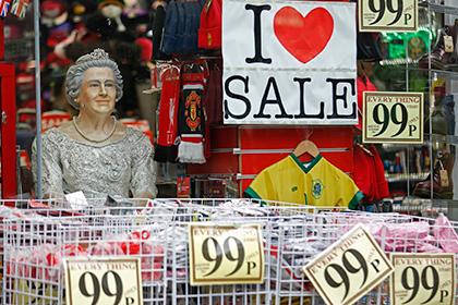 Инфляция в Великобритании упала до нуля впервые в истории