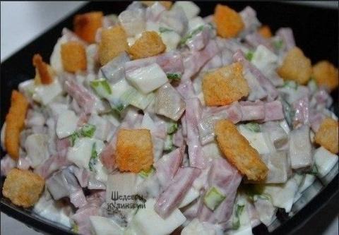 Очень вкусные салаты к празднику