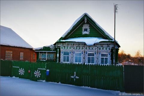 Зимой в окрестностях Звенигорода