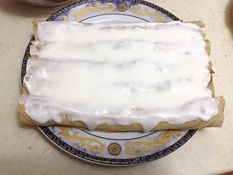 """Блинный торт """"Шапка Гугуцэ"""""""