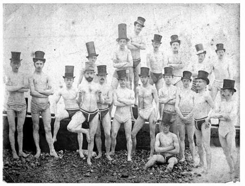 Плавание в Англии в тридцаты…
