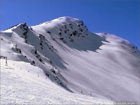 На склонах гор