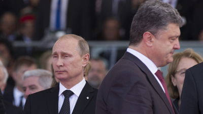 Путин призвал Порошенко разг…