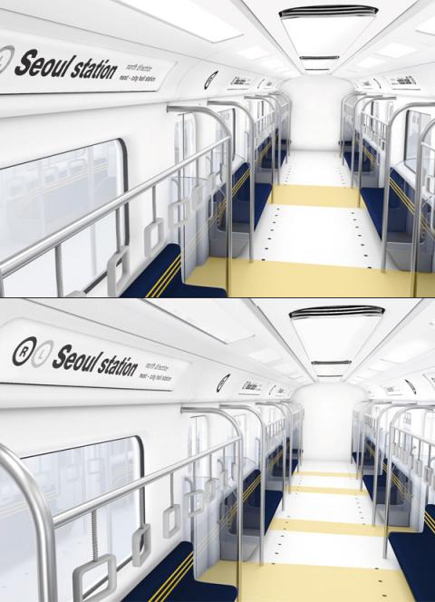 Двери Zigzag в вагонах метро