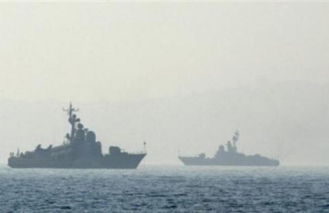 Российские военные корабли в…