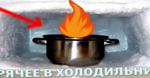 Никогда не ставила горячую еду в холодильник… Узнав об этом, отправила кастрюлю в холод прямо с плиты!