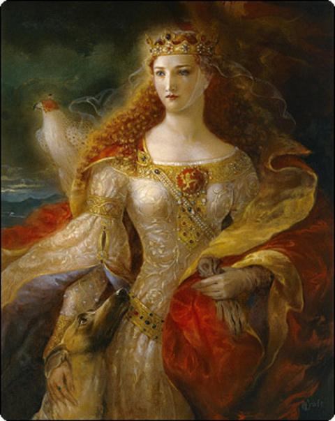Женские линии. Анна Ярославна (1032-1089) - королева Франции.