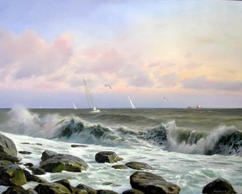 Морские пейзажи Сергея Коновалова