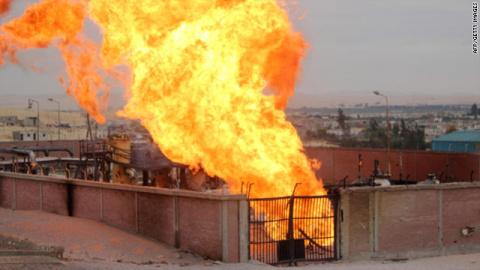 На крупной газовой станции в Австрии прогремел взрыв