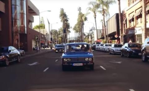 """""""Она крутая"""": Американцы испытали """"Жигули"""" в Лос-Анджелесе (видео)"""