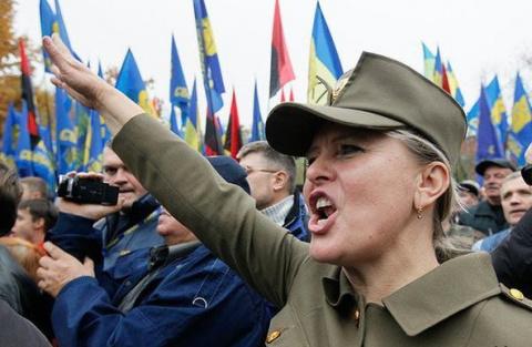 Бандеровская Украина главная опасность для России!