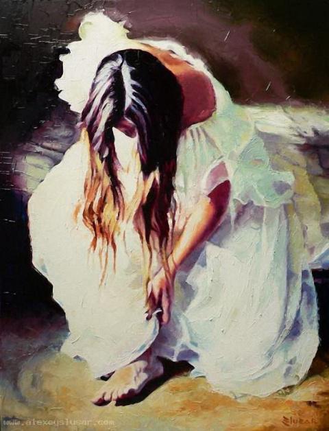 Alexey Slusar . Эволюция ангелов.