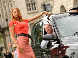 Ева Бэйбзилла — самая высокая в мире модель